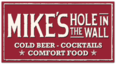 Mike's Hole in the Wall Logo